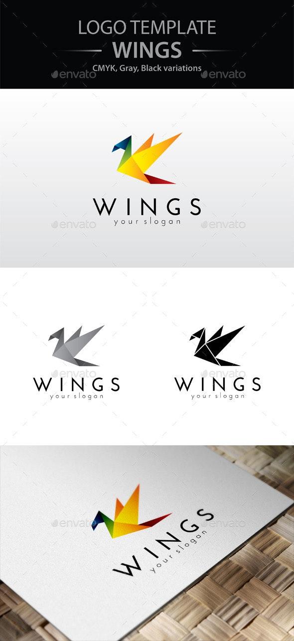 Wings Logo - Animals Logo Templates