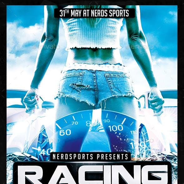 Car Race Sports Flyer