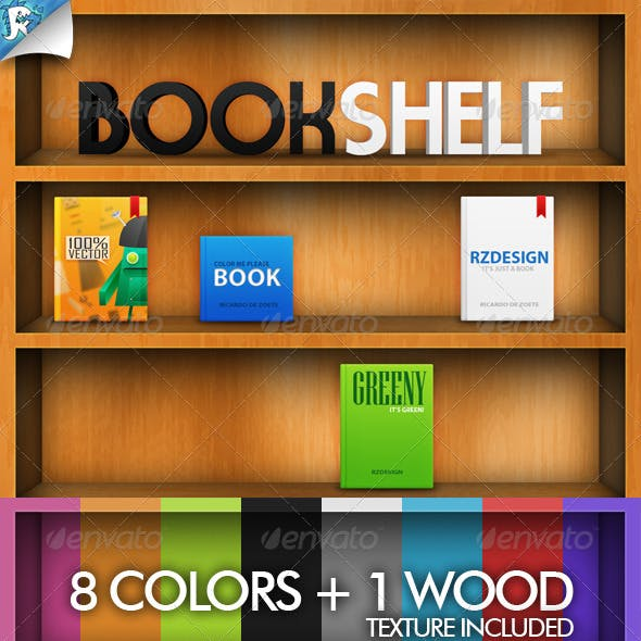 Book Shelf - For books and more