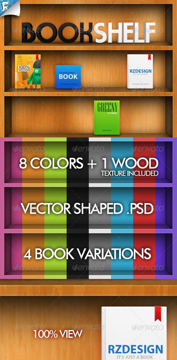 Book Shelf - For books and more - Miscellaneous Illustrations