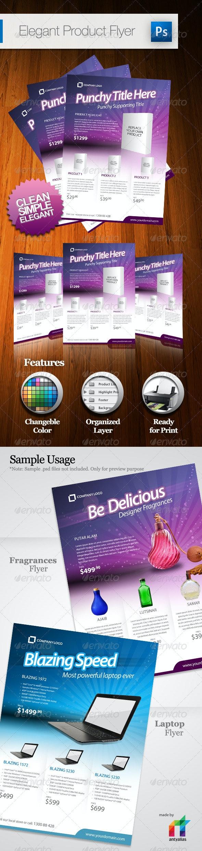 Elegant Product Flyer - A4 - Commerce Flyers