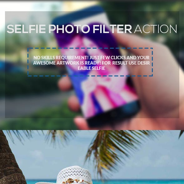 Selfie Photo-Filter Action