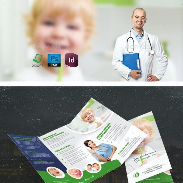 Kids Dental Tri-Fold Templates