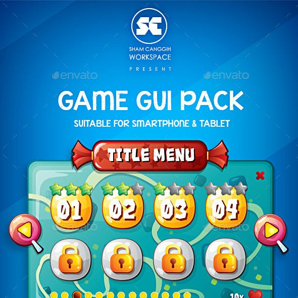 Cake & Candy Game GUI