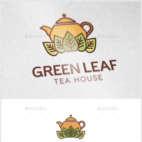 Green Leaf Tea Logo