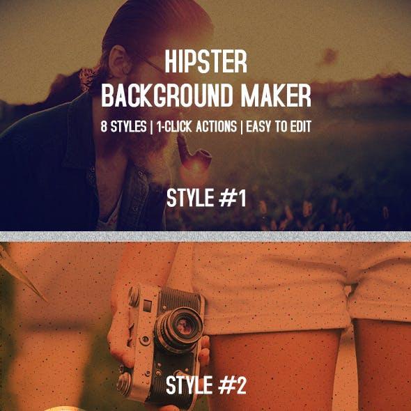 Hipster Web Background Maker