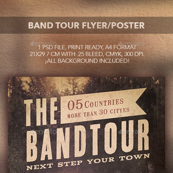 Band Tour Flyer/Poster