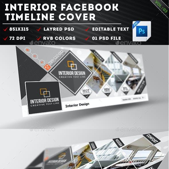 Interior Facebook Timeline Cover Vol 03