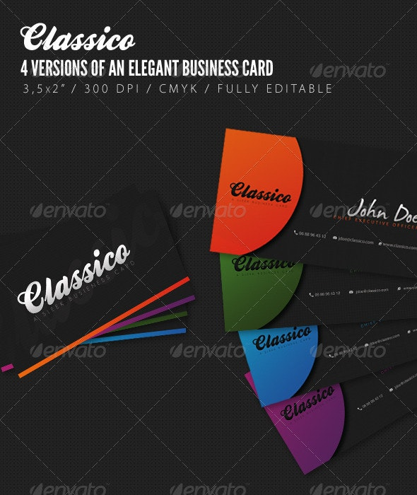 Classico - Elegant Business Cards - Creative Business Cards
