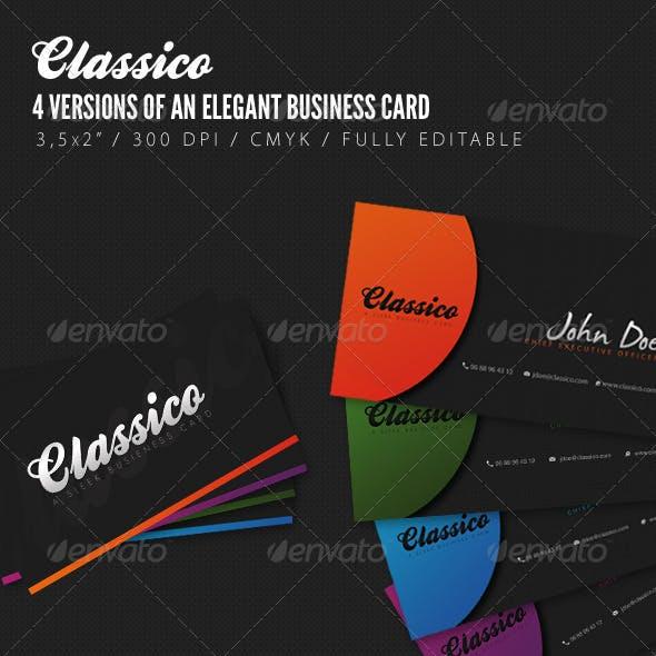 Classico - Elegant Business Cards