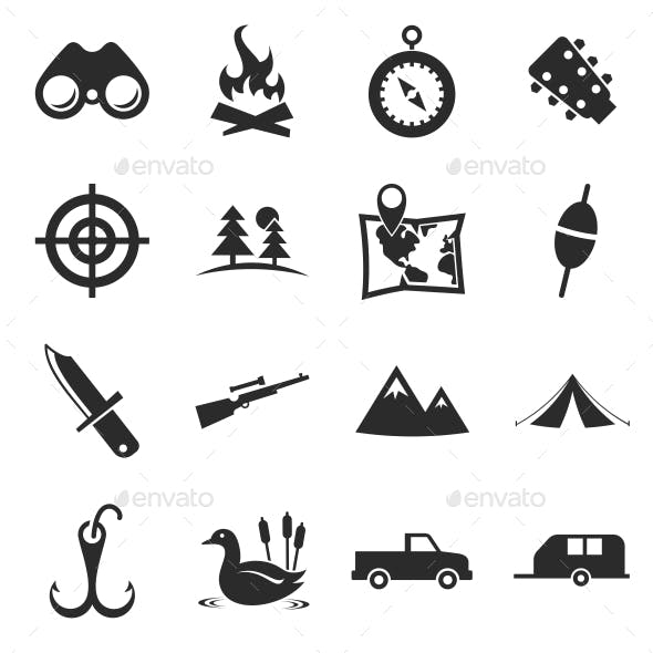 Hunting Icons