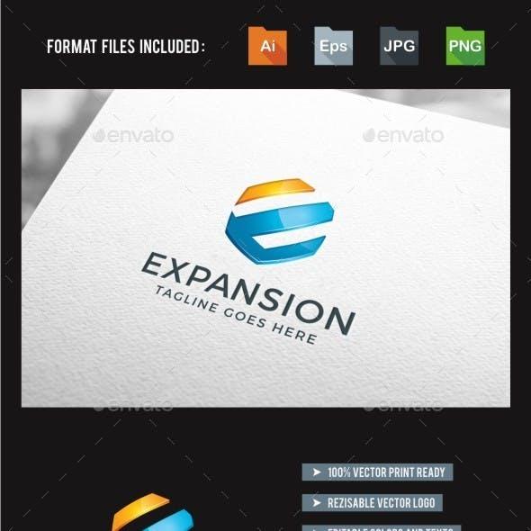 3d - E Letter - Expansion