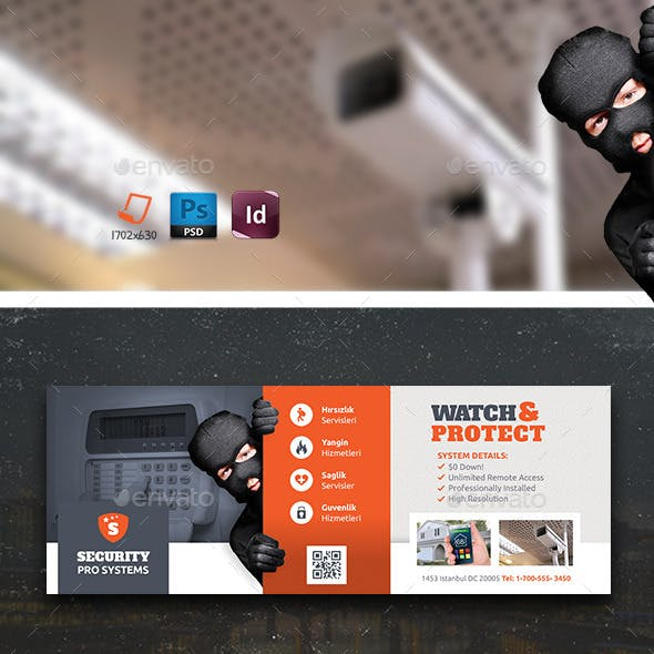 Security Systems Cover Templates