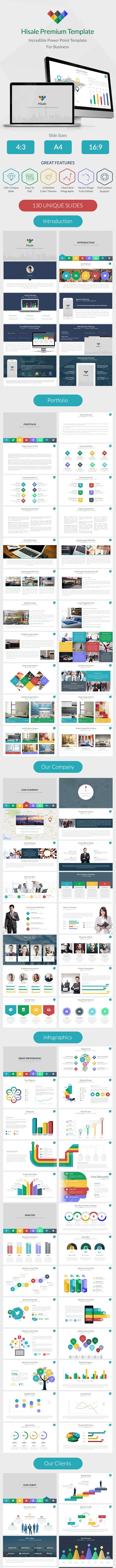 Hisale - Multipurpose Powerpoint Template - Business PowerPoint Templates