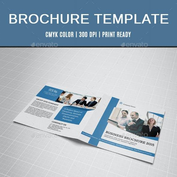 Corporate Square Bifold Brochure-V15