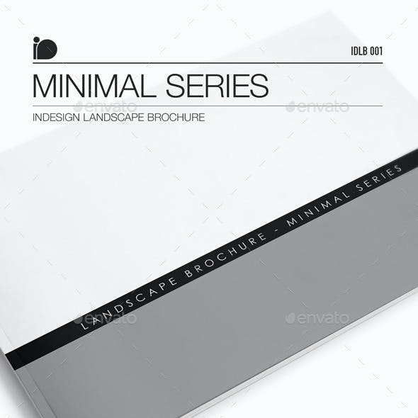 Landscape Brochure • Minimal Series