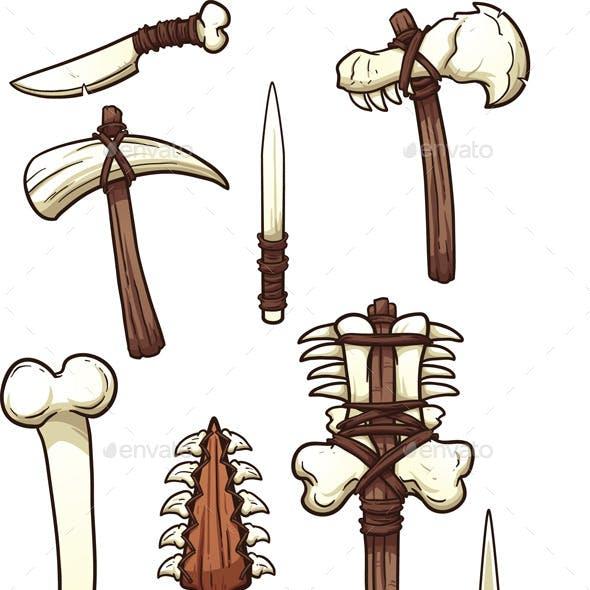 Bone Weapons