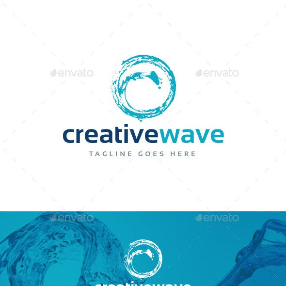 Creative Wave Logo Template