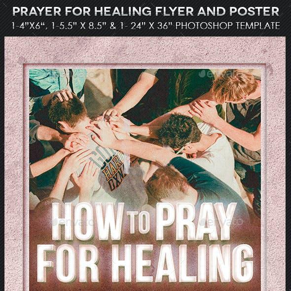 Healing Flyer Poster Template