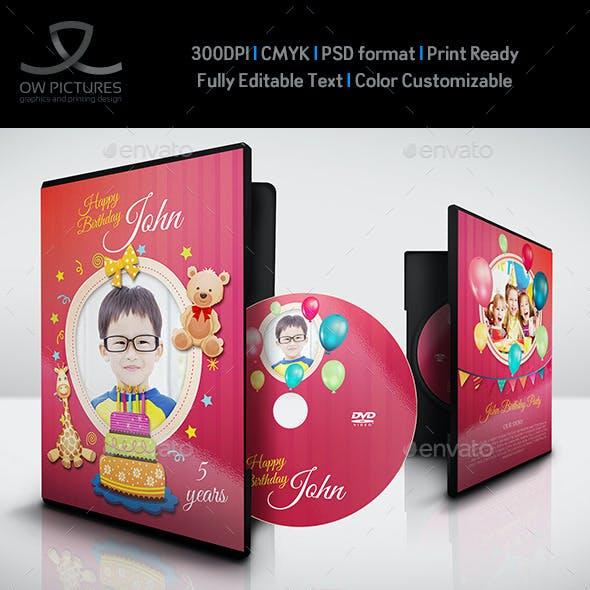 Birthday Party DVD Template Vol.2