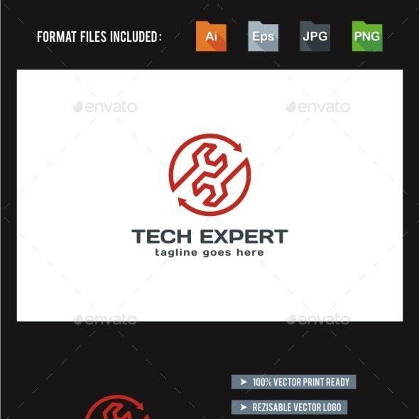 Tech Expert - Service - Repair Logo Template