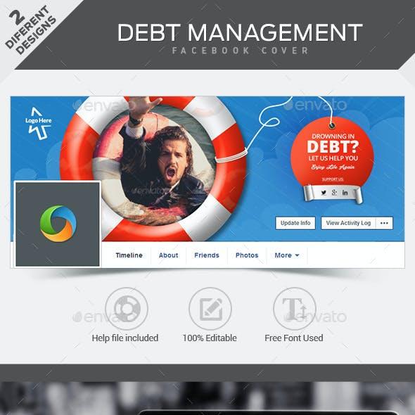 Debt Management Facebook Covers - 2 Designs