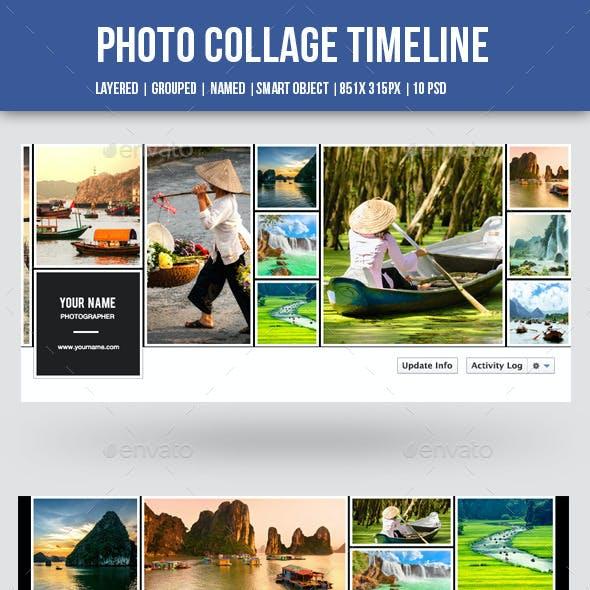 Photo Collage Facebook Timeline-10 Psd