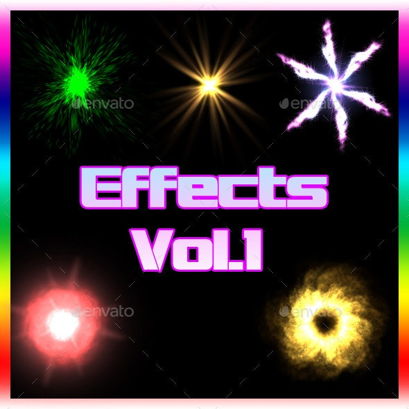 Effects Vol.1 - Miscellaneous Game Assets
