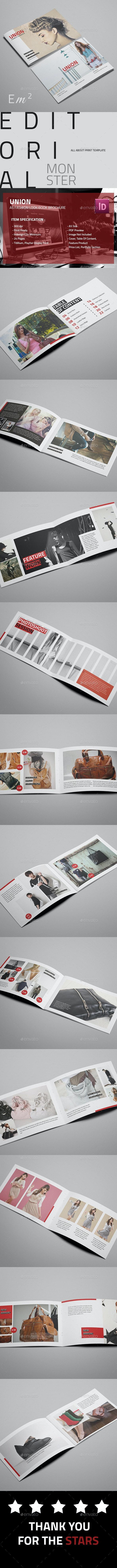 Union - Fashion Look Book - Catalogs Brochures