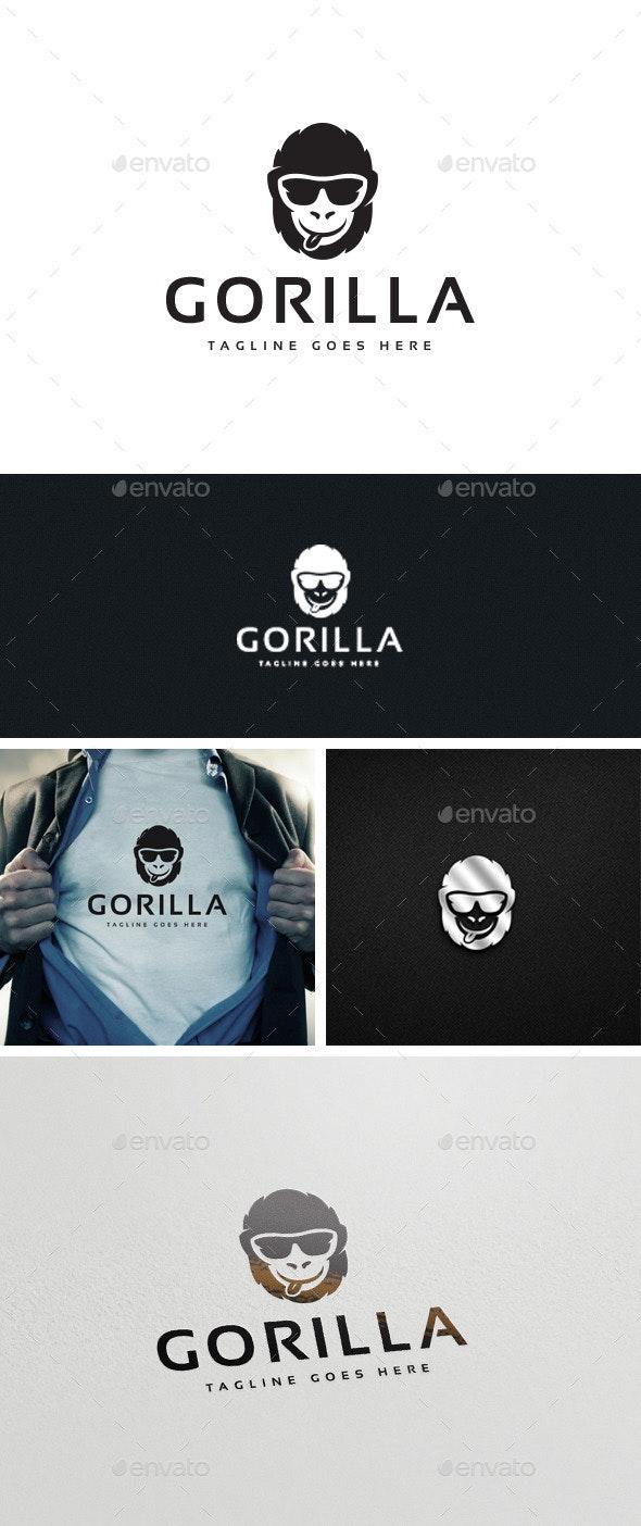 Gorilla Logo Template - Logo Templates