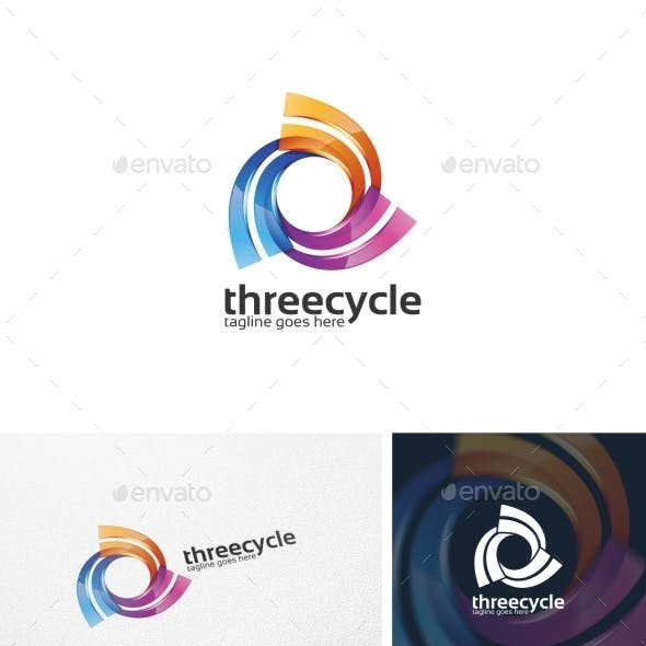 Three Cycle / Spiral - Logo Template