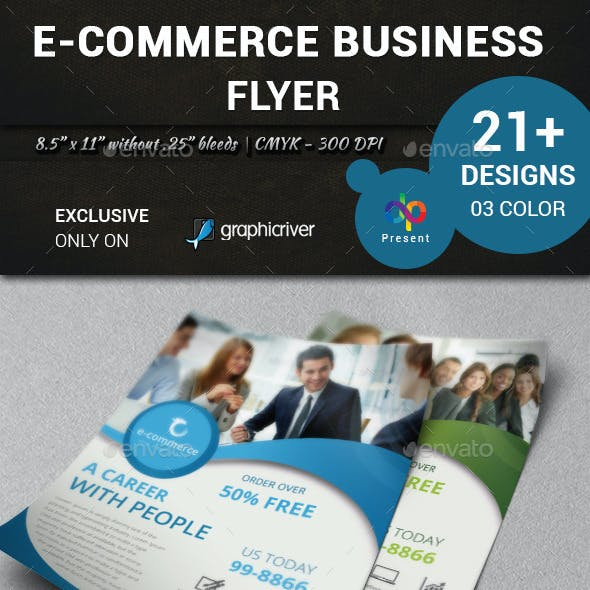 E-Commerce Business Flyer