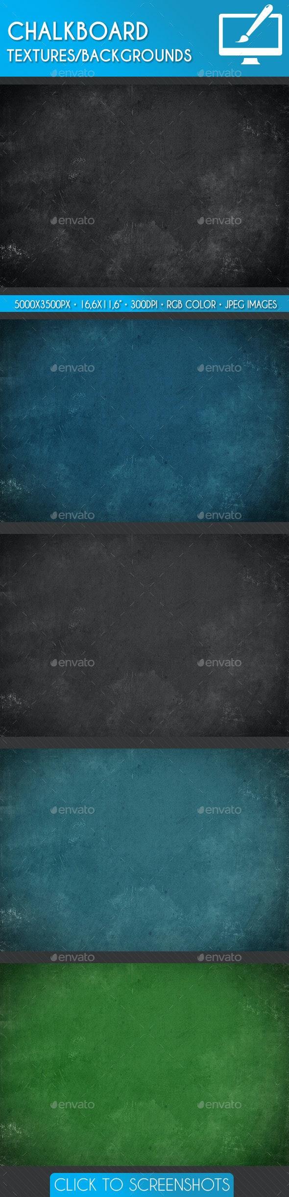 Chalkboard Textures/Backgrounds - Miscellaneous Textures