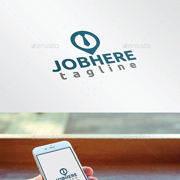 Job Here logo