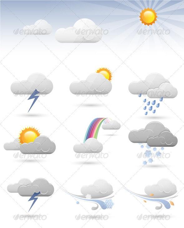 Weather Icons - Web Technology