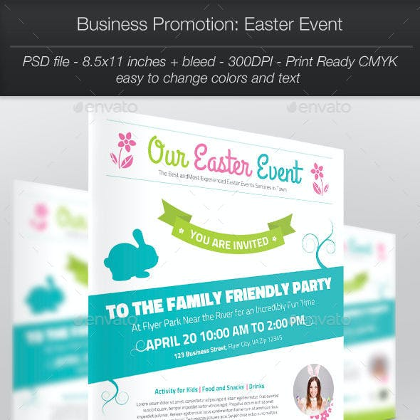 Business Promotion: Easter Event