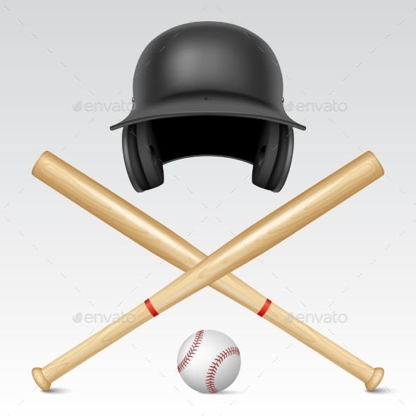 Set of Baseball Equipment