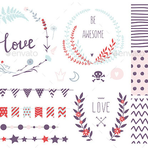 Hand Drawn Love Collection
