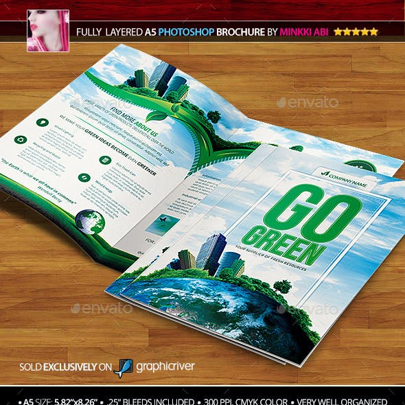 Go Green Bi-Fold Brochure