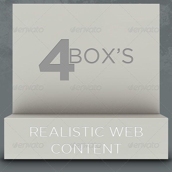 4 Realistic Box
