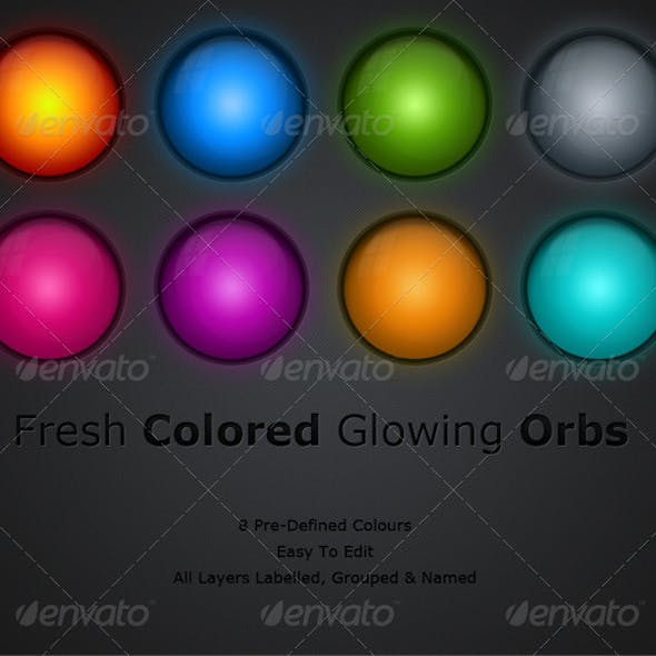 Colorful Glowing Orbs