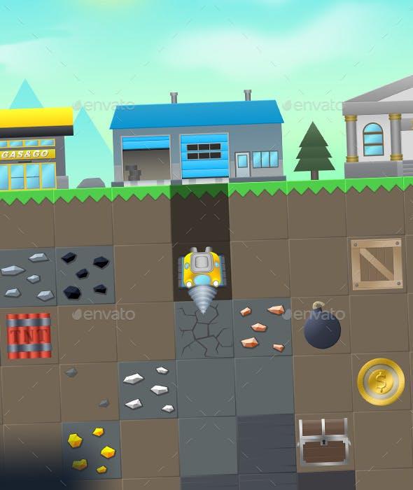 Digger Game Kit