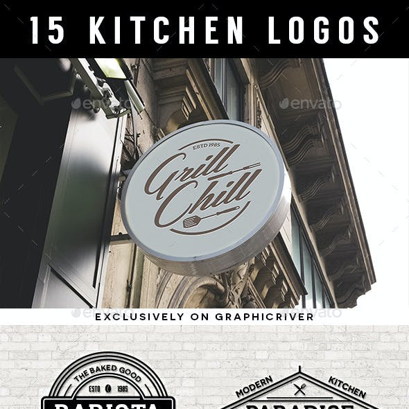 15 Kitchen logos