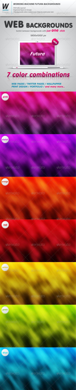 Futura Web Backgrounds - Backgrounds Graphics