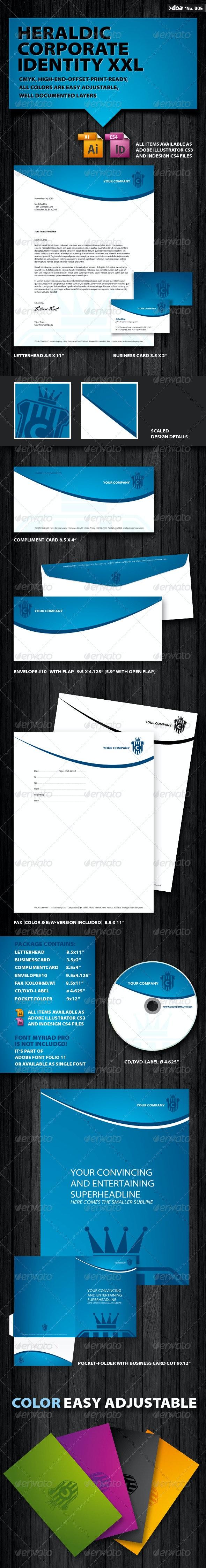 Heraldic Corporate Identity XXL - Stationery Print Templates