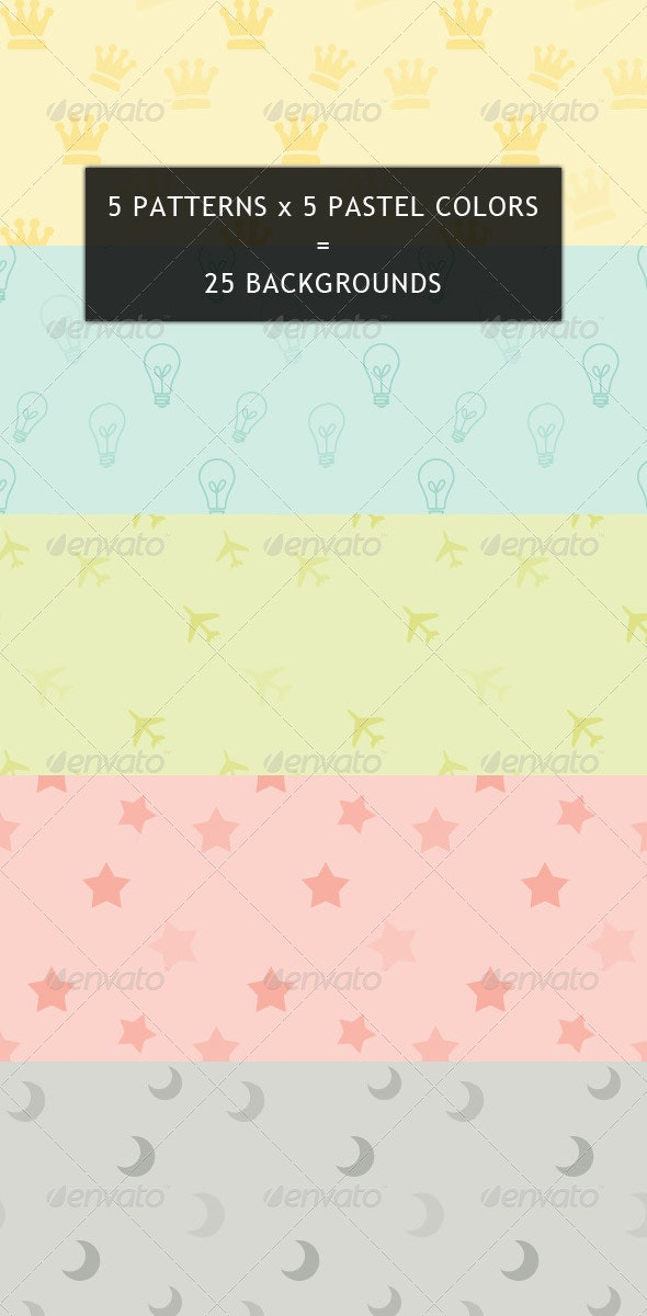 Pastel Backgrounds - Patterns Backgrounds