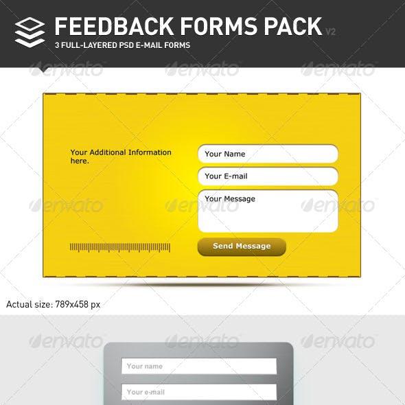 Feedback Forms Pack v.2