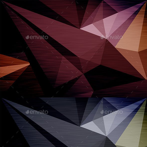 8 Polygon Backgrounds Pack