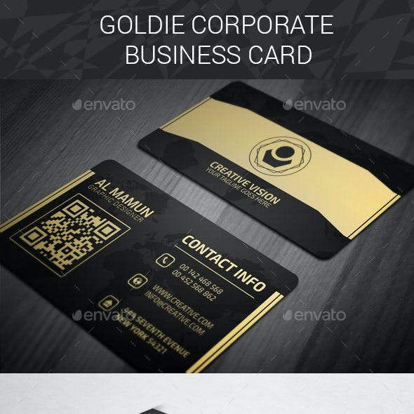 Goldie Corporate Business Card