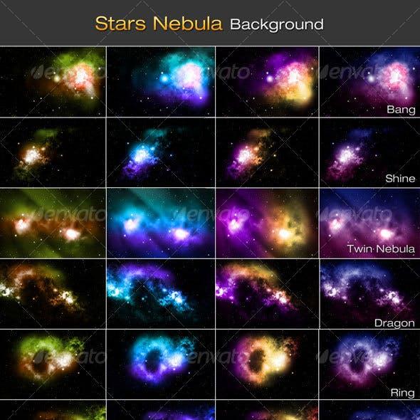 Stars Nebula Backgrounds